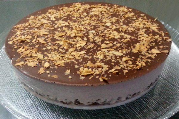 עוגת מוס שוקולד קינדר