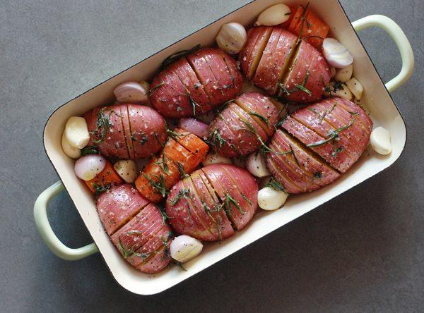 מניפות תפוחי אדמה. צילום: רחלי קרוט