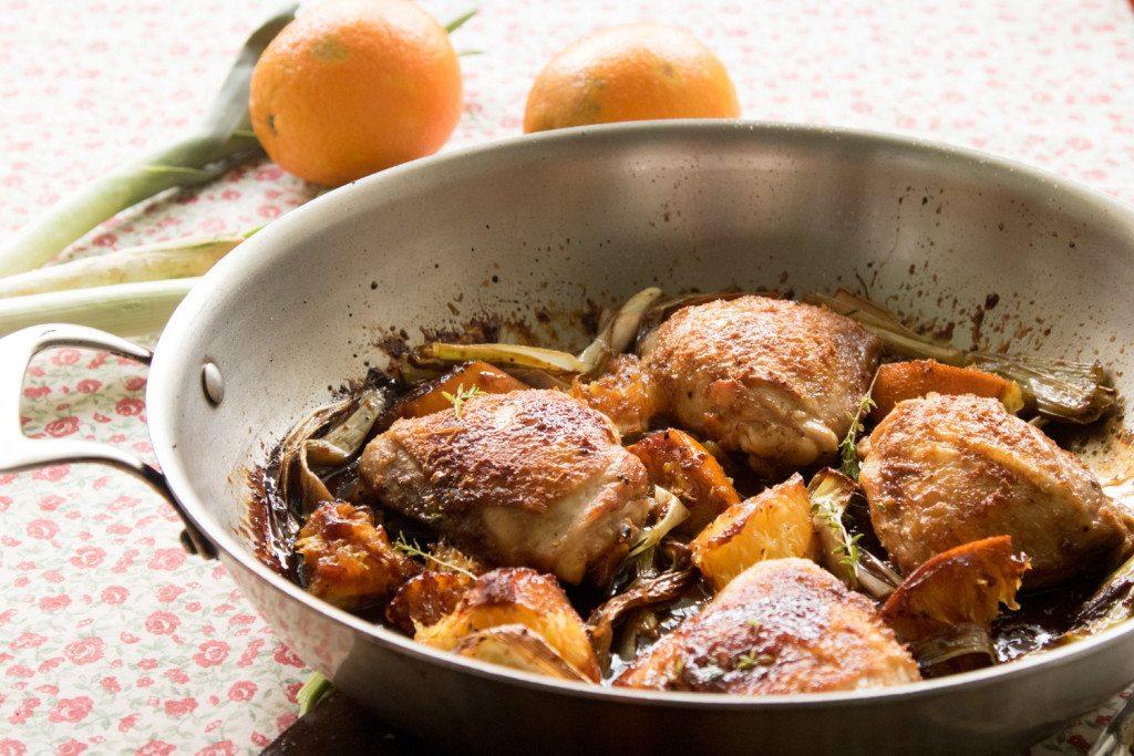 עוף בתפוזים - לייזה פאנלים