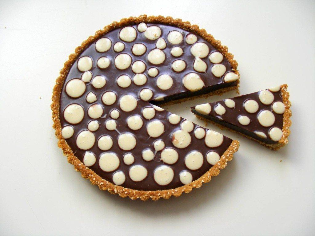 טארט שוקולד וחלבה - רויטל אמיר